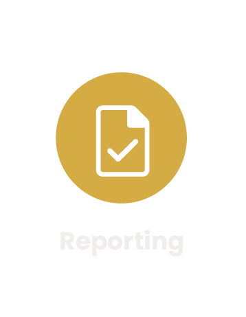 certification software reporting module